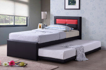 Sg Tan Single Kids Storage Bed Pull Out Guest Bed