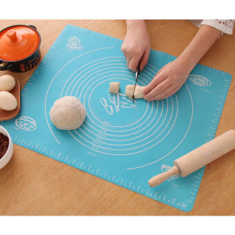 Silicone Pastry Mat Pad Rolling Fondant Sheet Kitchen Tool BakingAccessories