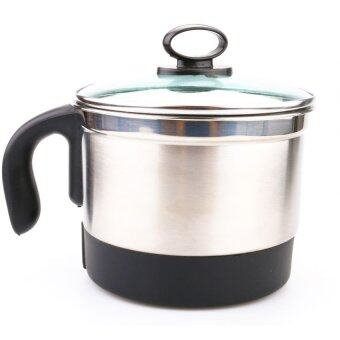 Stainless Steel Electric Cooker 1.5L Silver