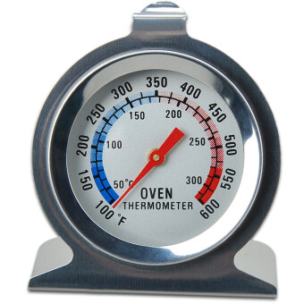 Stainless Steel Oven Cooker Thermometer (Silver)