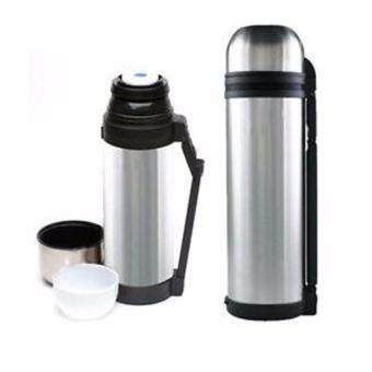 Stainless Steel Power Handy Bottle Hot Cold Vacuum Flask Thermos-1.0L