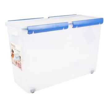 Toyogo Air Tight Storage Food Container With Wheel