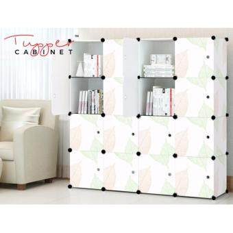 Tupper Cabinet 16 Cubes DIY Storage Cabinet- Leaf Design