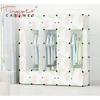 Tupper Cabinet 25 Cubes DIY Wardrobe- Leaf Design