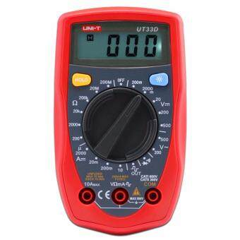 UNI-T UT33D Palm Size Digital Multimeter