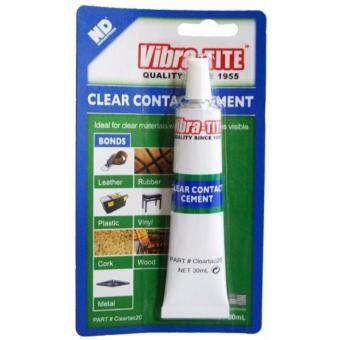Vibra-TITE Clear Contact Cement 30-ml