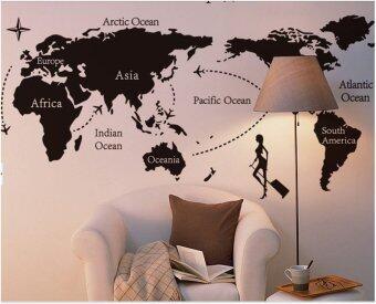 Wall Sticker - World Map