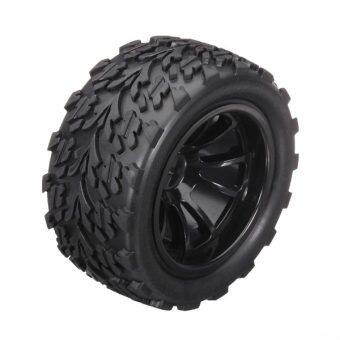 1/10 Rc Monster Truck Tyre 2 PCS For HSP Tamiya Losi Black
