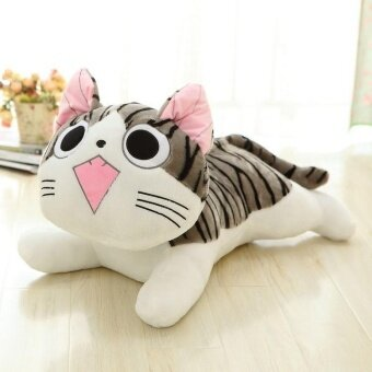 19cm Japan Anime Figure Cheese Cat Plush Stuffed Toy Doll