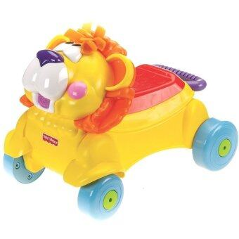 2 in 1 Musical Lion Walker + Ride On Push Car