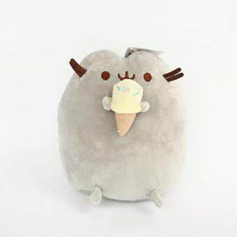 23cm Cute Pusheen Cat Plush Cookie & Icecream & Doughnut& Cake Plush Soft Stuffed Animals Toys