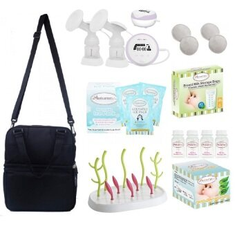 Autumnz - ESSENTIAL Double Electric Breastpump **VALUE PACKAGE**