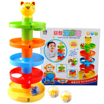 Baylor health rolling ball layer stacked rotating with earlychildhood toys