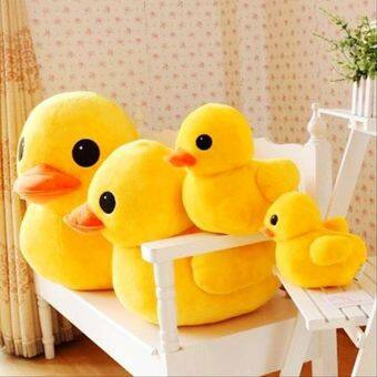 Big yellow duck doll plush toys