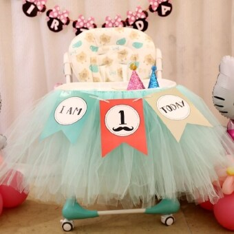 Birthday party dress up birthday wall triangle flag