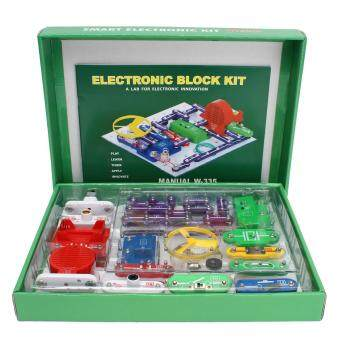 Child DIY Snap Electronics Circuits Blocks Discovery Kit Science Educational Toy