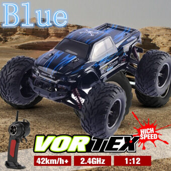 ***Christmas Gift*** ?Newest 40kmh+ 1/12 scale Electric RC Monster Truck Off Road 2.4Ghz 2WD High Speed Remote Controlled Car ?