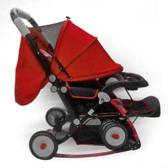 Cradle Stroller Recommended By Smarter Mum 2017 (RED)