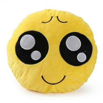 Cute Round Cushion Emoji Emoticon Stuffed Plush Doll Pillow PlushToy Doll Gift
