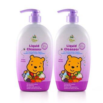 Disney Baby Bottles Liquid Cleanser 750ml Twin Pack - Grape