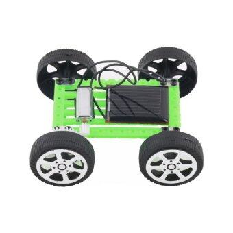 Easybuy 1Pcs Mini Solar Toy DIY Car Children Educational Puzzle IQGadget Robot