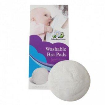 Fabulous Mom - Washable Bra Pads (6 Pieces)