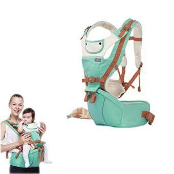 Flymei Multi Position 360 Ergonomic Baby Carrier With Hip Seat For All Seasons Convertible Airflow Sling Holder Wrap Newborn Infant Toddler