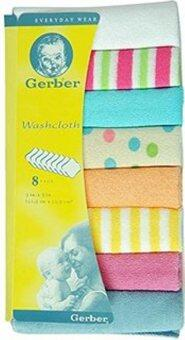 Gerber Washcloth 8Pcs x 2 pack
