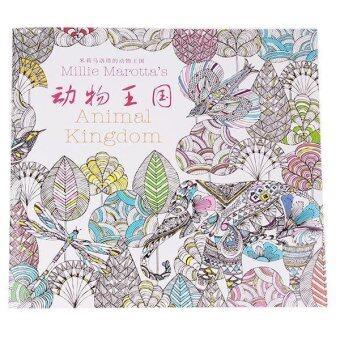 Secret Garden Colouring Book Malaysia By Hang Qiao Animal Kingdom Coloring Of