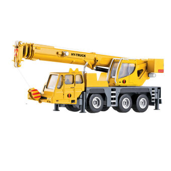 Hua Yi alloy lifting machine Crane car Crane Truck Model