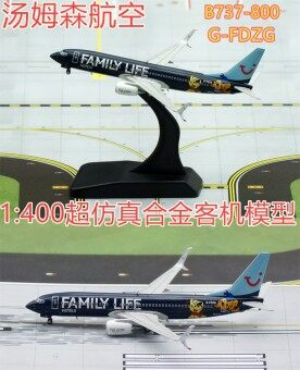JC b737-800 alloy airplane model