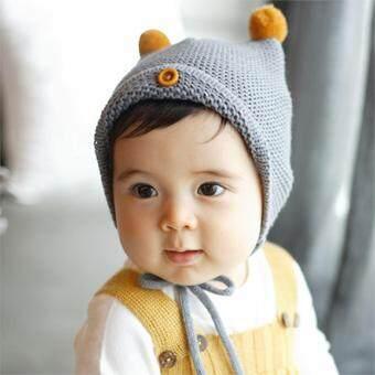 860df795586f Excess Newborn Baby Infant Autumn Winter Warm Hat Boys Girls Soft ...