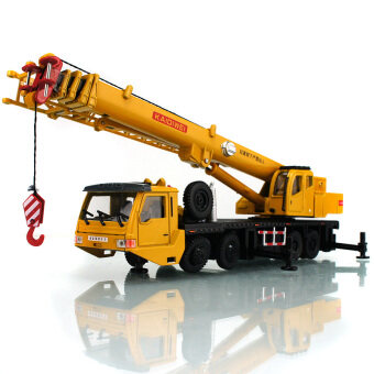 Kaidi Wei full alloy lifting machine crane model 1:55 model toyswork arm full-length 90 cm