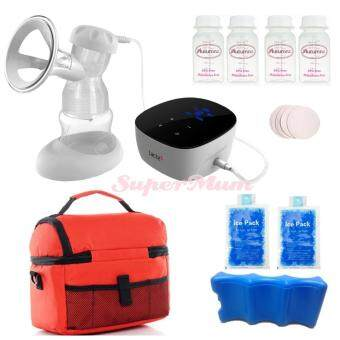 Lacte Solo Elite Rechargeable Electric BreastPump Value Package