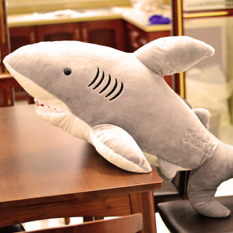 Large VISHARK cloth doll animal pillow doll