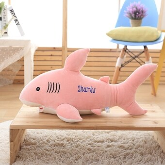 Large VISHARK White Shark Boys Girls animal plush toys