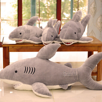 Large White Shark large VISHARK doll