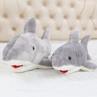 Large White Shark model VISHARK doll pillow