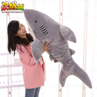 Large White Shark VISHARK doll pillow