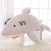 Large White VISHARK plush toys pillow doll cartoon dolphin