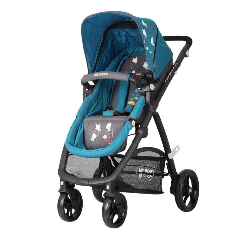 My Dear Baby Stroller 18092 - Blue | Lazada Malaysia