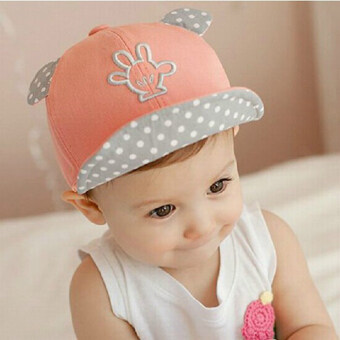 Newest Summer Newborn Baby Hat Kids Cap Infant Baby Hat for Boysand Girls-pink