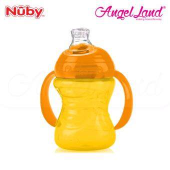 Nuby Click-It Twin Handle 240ML-10109