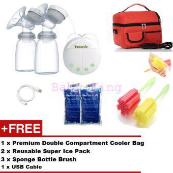 Original TREENIE KOMPAKTO Electric Double Breastpump + FREE GIFTS