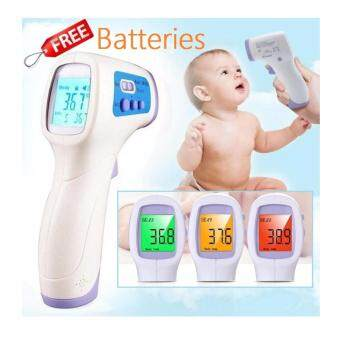 PC868 Non-Contact Forehead Infrared Digital Baby Gun Thermometer With 99 Memory Reading Recall And Fever Alarm
