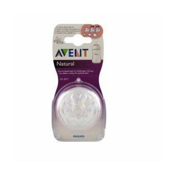 Philips Avent Natural Variable Flow Teat 3m+ Twin Pack - SCF655/23 (MADE IN ENG)