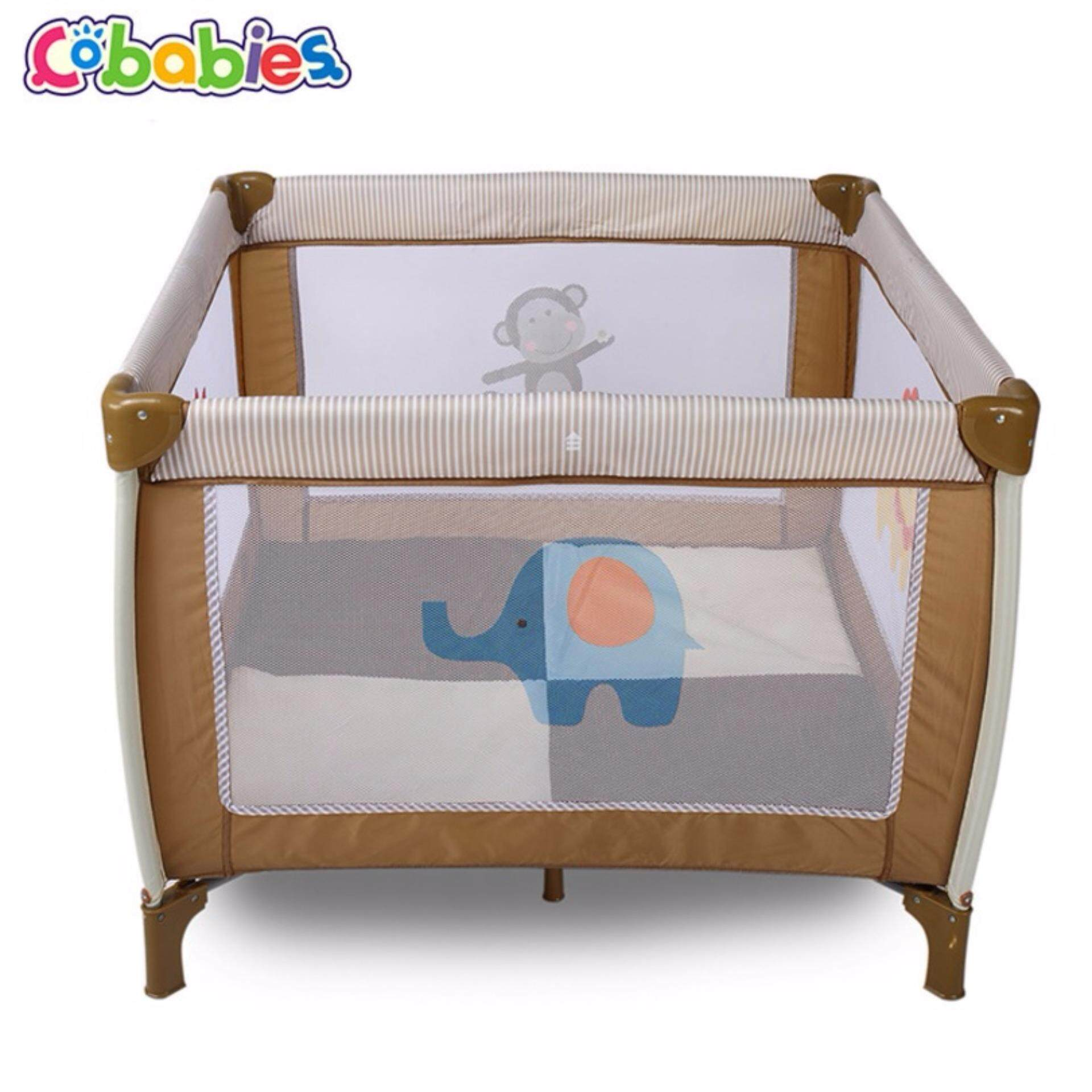 Portable Children Baby Playpens Travel Cot Bed Binet Play Pen Big Size 1m Lazada Malaysia