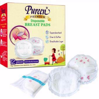 Pureen Premium Disposable Breast Pads 12's