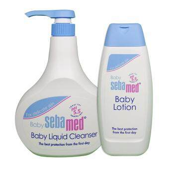 Sebamed Baby Liquid Cleanser 500ml W/Lotion 100ml