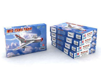 Small trumpeter assembled aircraft model 80263 1/72 Mig-15 woodbundle fighting machine